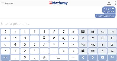 Mathway - Svi matematički obračuni na jednom mestu